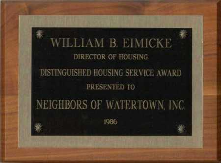 Distinguished Housing Service Award