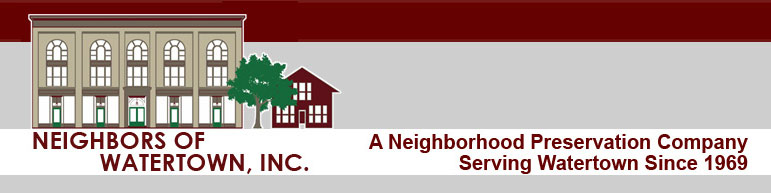 Neighbors Of Watertown, Inc  - First Time Homebuyer